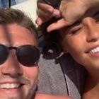 Vacanza romantica in Costiera per Niklas Bendtner e la modella Philine