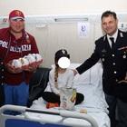 Napoli, dagli agenti di polizia uova di Pasqua per i bimbi del Santobono