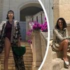 Caterina Balivo supersexy in vacanza: boom di like per le foto in costume