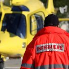 Il vento spinge il paracadute,  grave medico nel Salernitano