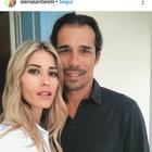 Elena Santarelli e l'emozionante messaggio d'amore per il marito, le amiche vip si commuovono