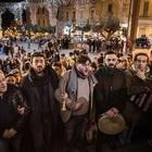 La Scala Santa per l'Immacolata dedicata alle 4 vittime di Genova