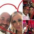 Tina Cipollari e il fidanzato Vincenzo Ferrara
