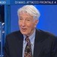 Corrado Augias boccia Renzi da Lili Gruber: «Rischia di andare a schiantarsi»