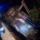 Auto precipita in un burrone nel Casertano: morto 40enne