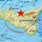Terremoto in Sicilia, epicentro le Madonie