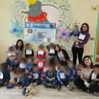 I bimbi dell'asilo nido protestano  contro la chiusura del punto nascita