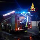 Incendio nell'impianto dei rifiuti nel nucleo industriale di Avellino