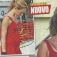 Cristiana Capotondi, pancino sospetto con Andrea Pezzi