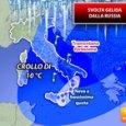 Meteo, tornano freddo e neve: da venerdì svolta gelida dalla Russia