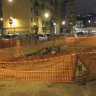 Napoli, via Lepanto sprofonda: «Perdita d'acqua nel sottosuolo»