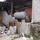 Frosinone, muro crolla per il vento: due morti, grave un altro uomo