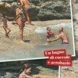 Eros Ramazzotti, Marica Pellegrinelli e i figli a Mykonos