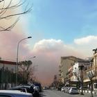 Pozzuoli, incendio al monte Nuovo: residenti in fuga