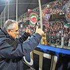 Bombe carta allo stadio Arechi,  nei guai tre ultrà della Salernitana