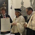 Laurea ad honorem per Alberto Angela