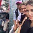 Wanda Nara, la moto d'acqua «ripescata»: incidente durante la gita al lago