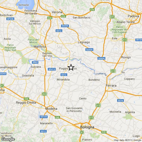 Terremoto Oggi magnitudo 2.2 in provincia di Matera e Messina