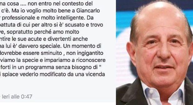 Magalli attacca Adriana Volpe: