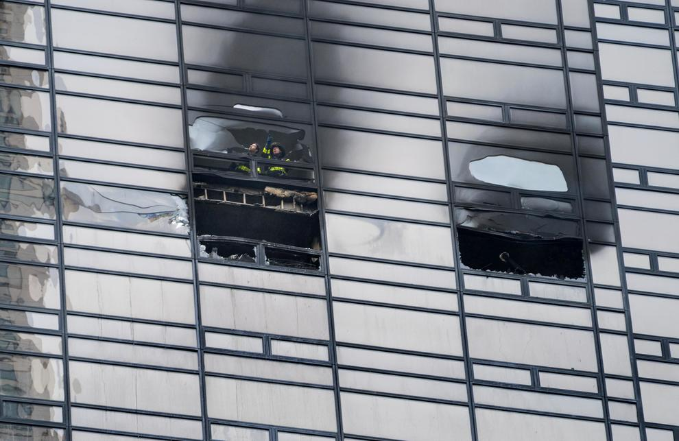 Incendio al 50esimo piano della Trump Tower, un morto