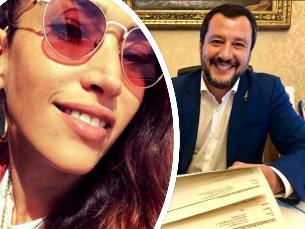 Scontro Nina Zilli-Salvini, il ministro: