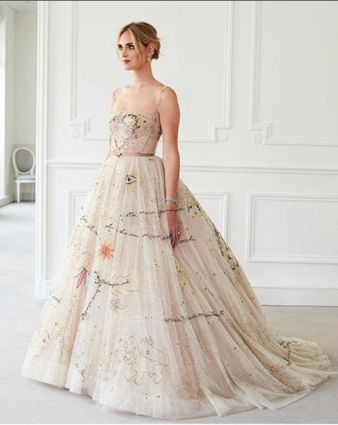 size 40 e540c 6e71c Matrimonio Ferragnez: Il secondo vestito della Ferragni ...