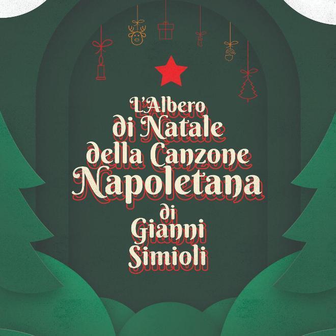 Locandina della manifestazione l'albero di Natale della canzone napoletana