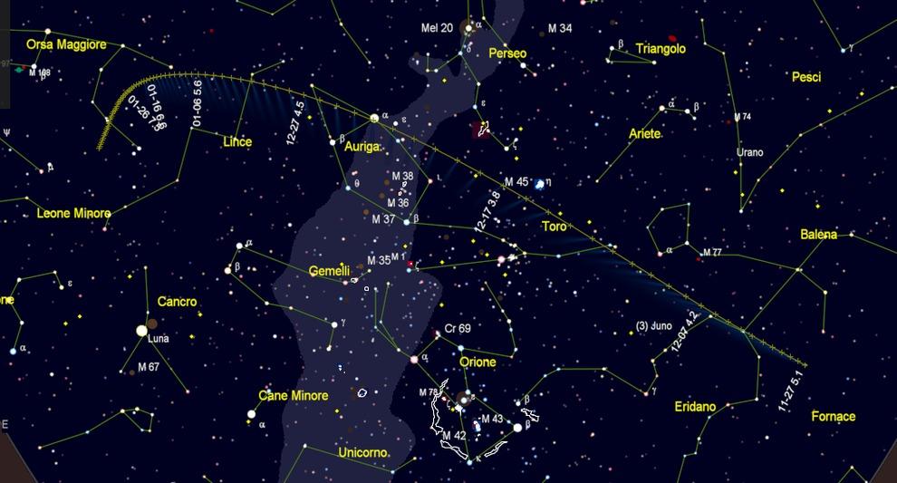 Stella Luminosa Di Natale.Cometa Di Natale Gia Visibile A Occhio Nudo Ecco Dove E Come